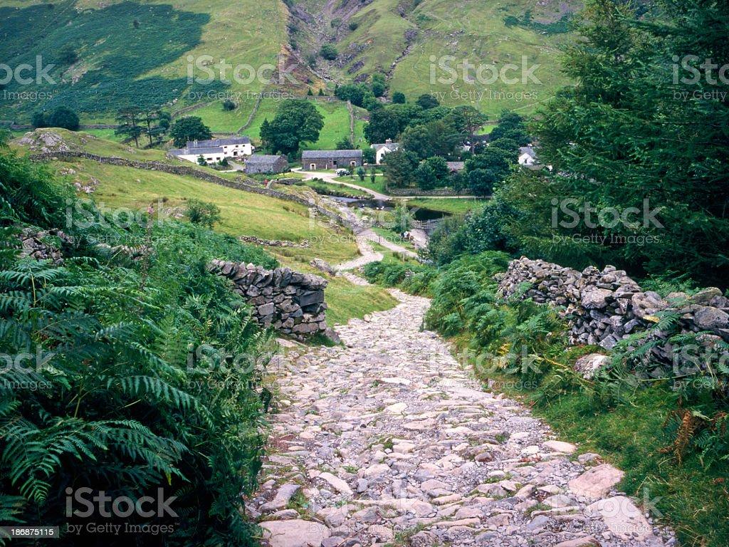 Picturesque Lake District - Watendlath royalty-free stock photo