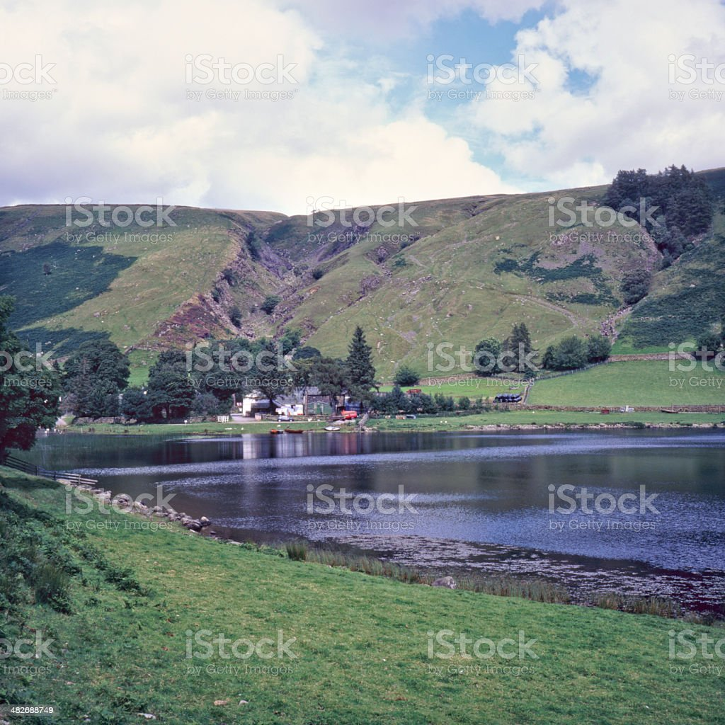 Picturesque Lake District - Watendlath stock photo