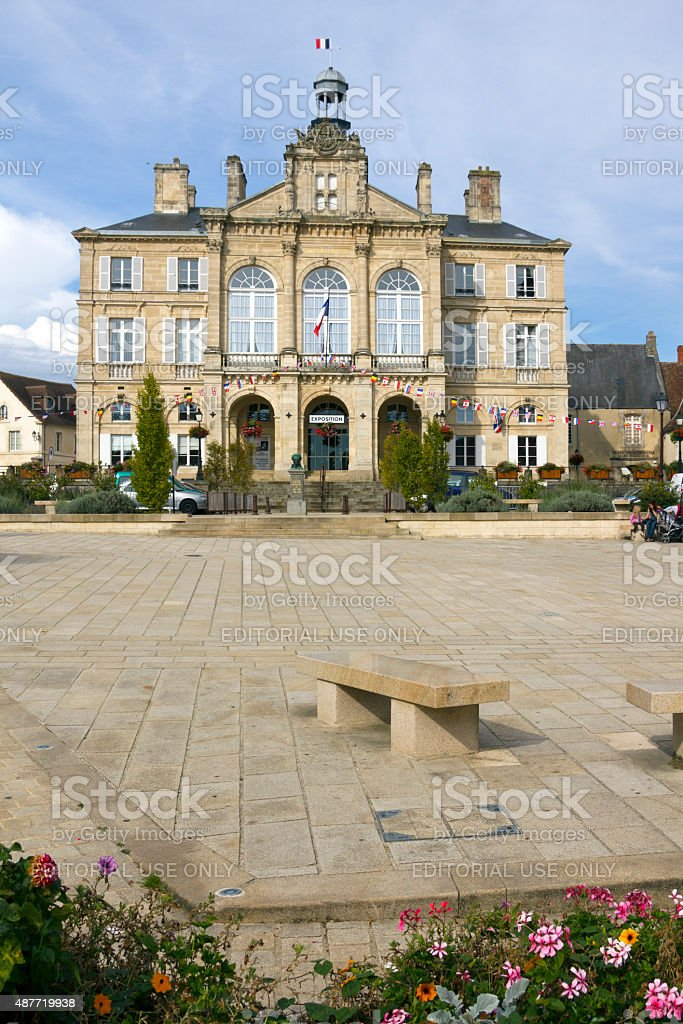 Picturesque Normandy - Sees stock photo