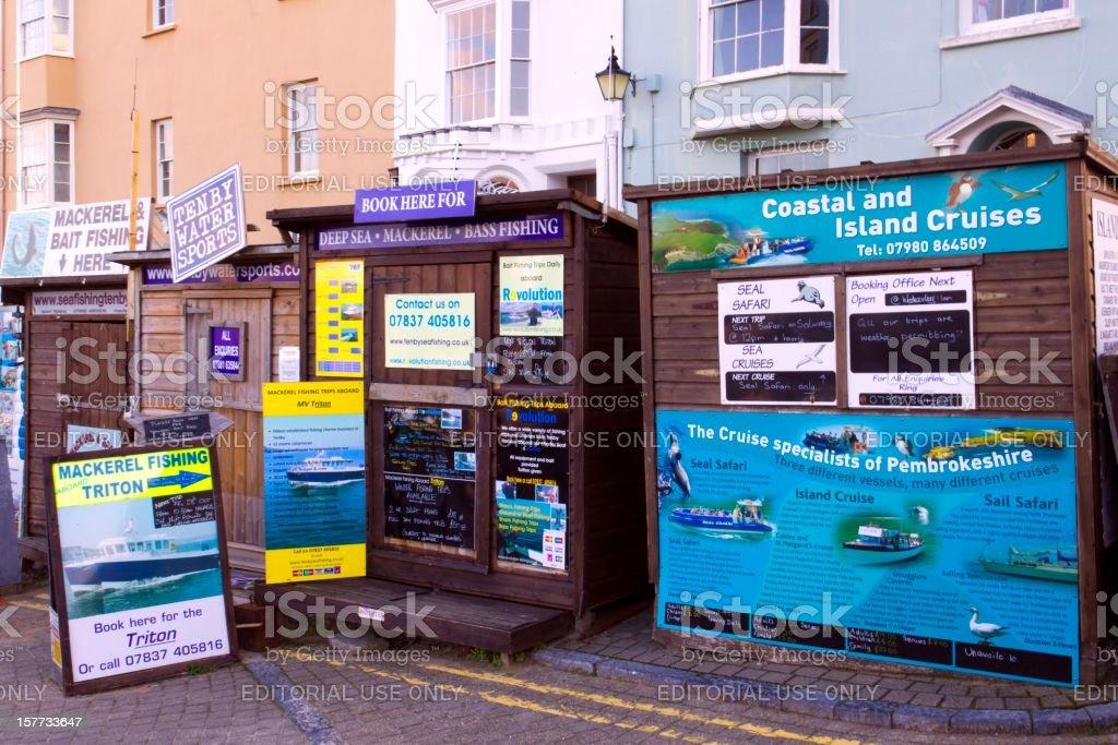 Picturesque Pembrokeshire - Tenby stock photo