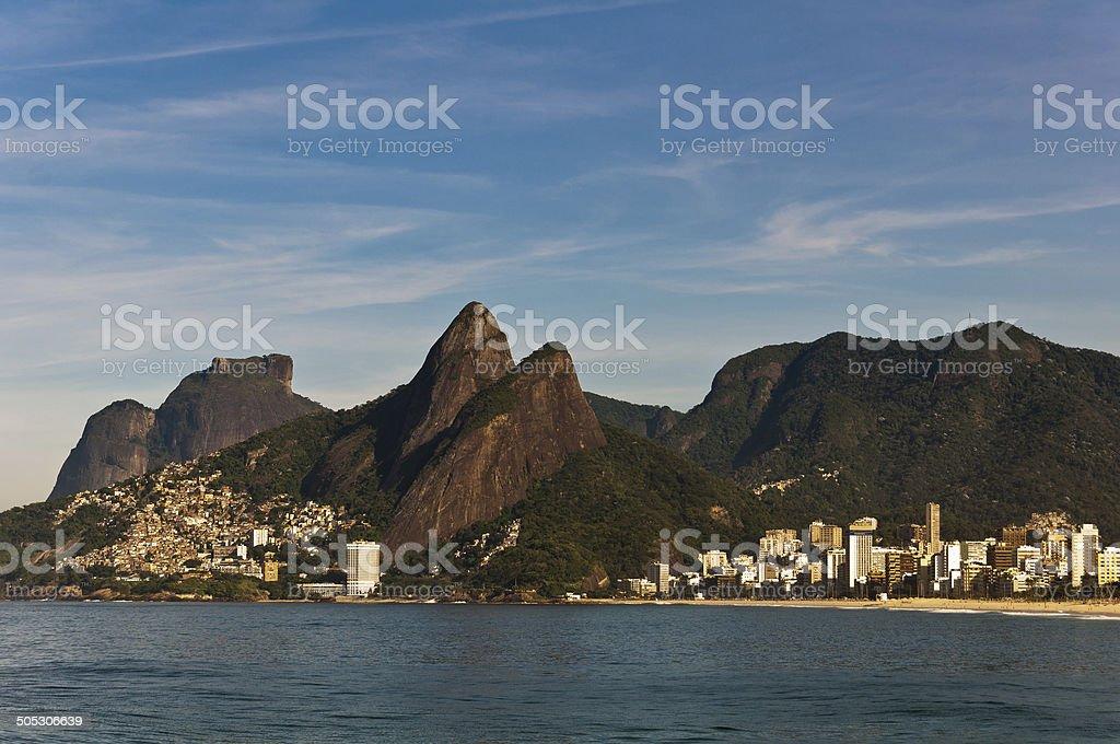 Picturesque Rio de Janeiro Coast stock photo