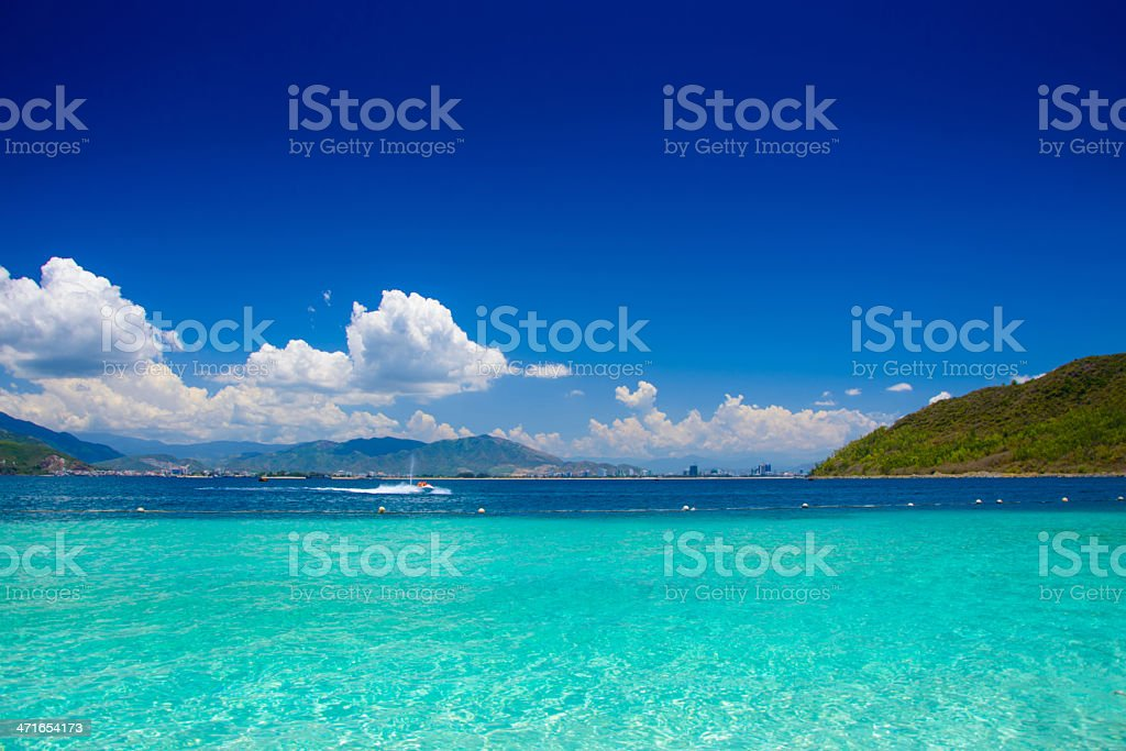 Picturesque seascape royalty-free stock photo