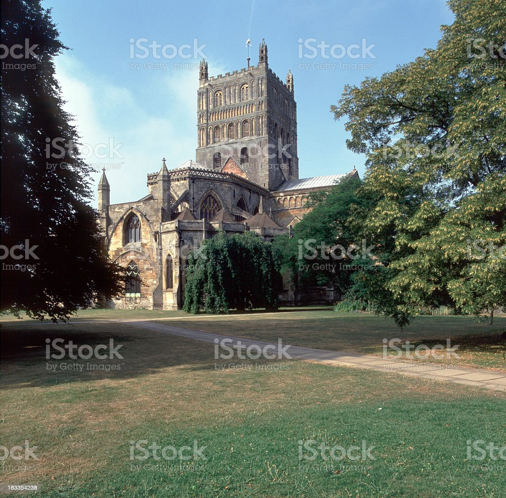 Picturesque Severn Vale - Tewkesbury stock photo