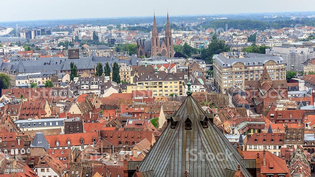 Picturesque Strasbourg stock photo