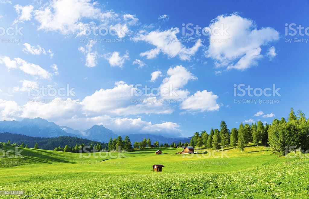Picturesque view stock photo