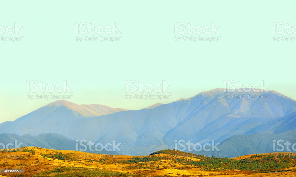 Picturesque vineyards royalty-free stock photo