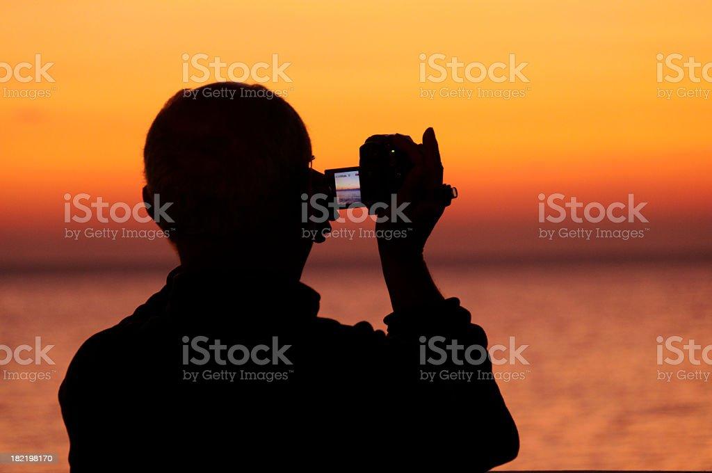 Picturing the Scene stock photo