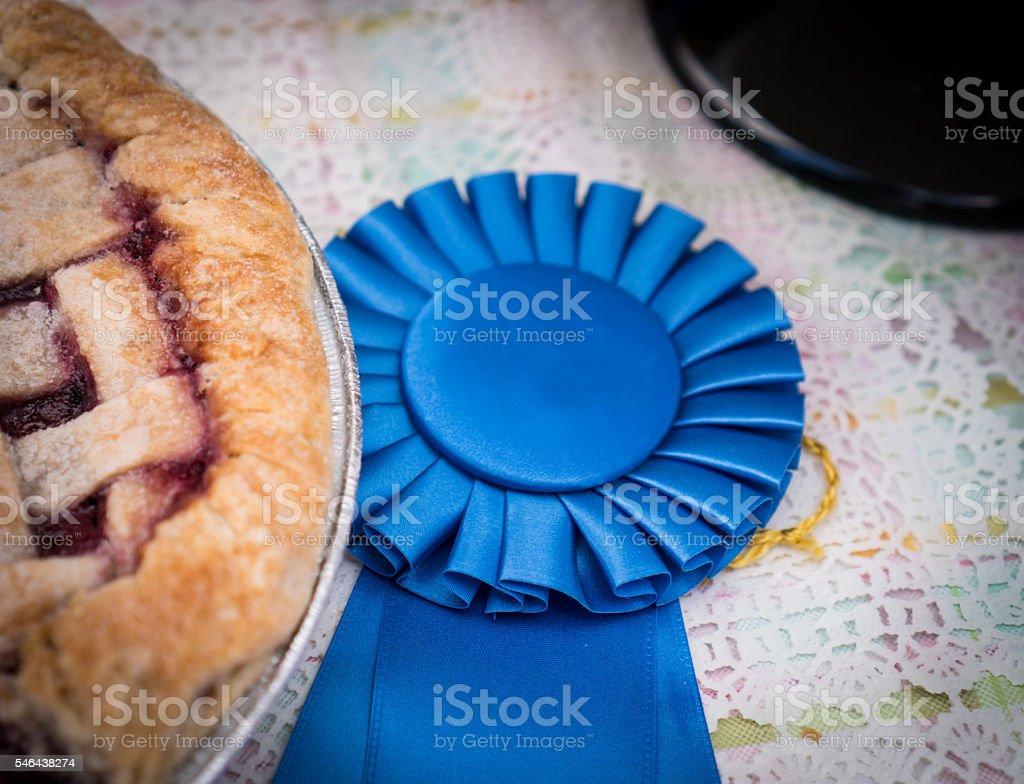 Pie Baking Contest stock photo