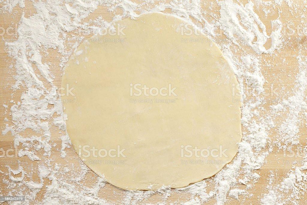 Pie Dough royalty-free stock photo
