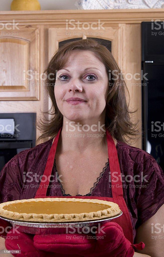 Pie for Dessert royalty-free stock photo