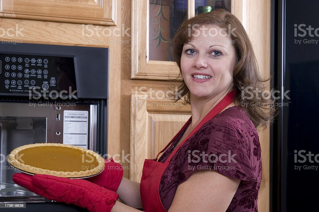 Pie for Dessert royalty-free stock photo