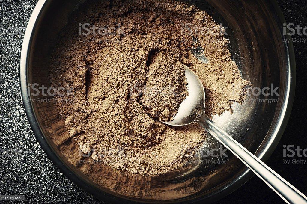 Pie ingredient stock photo