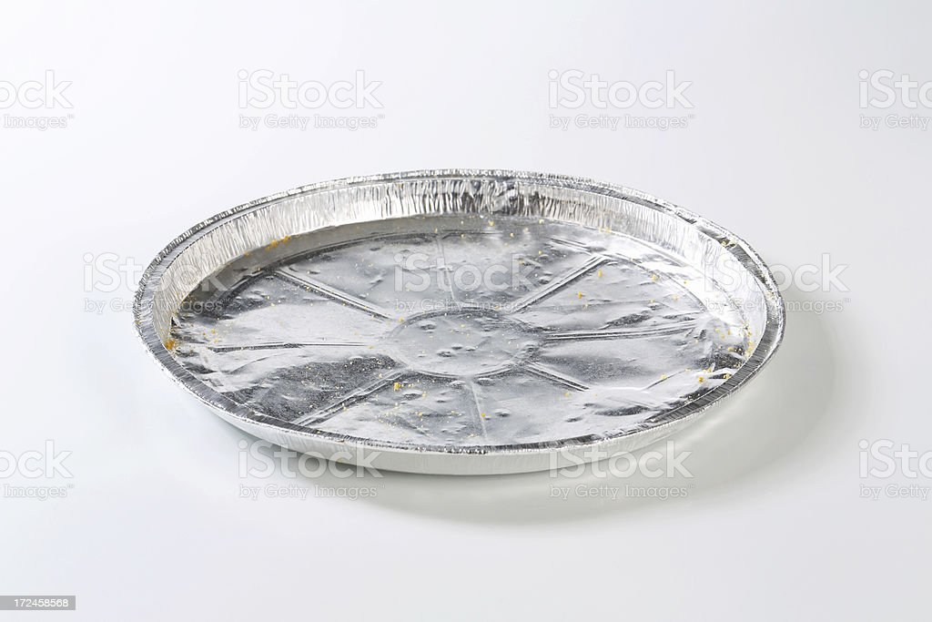 pie tin royalty-free stock photo
