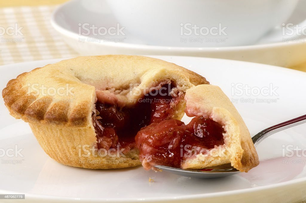 pie with berries royalty-free stock photo