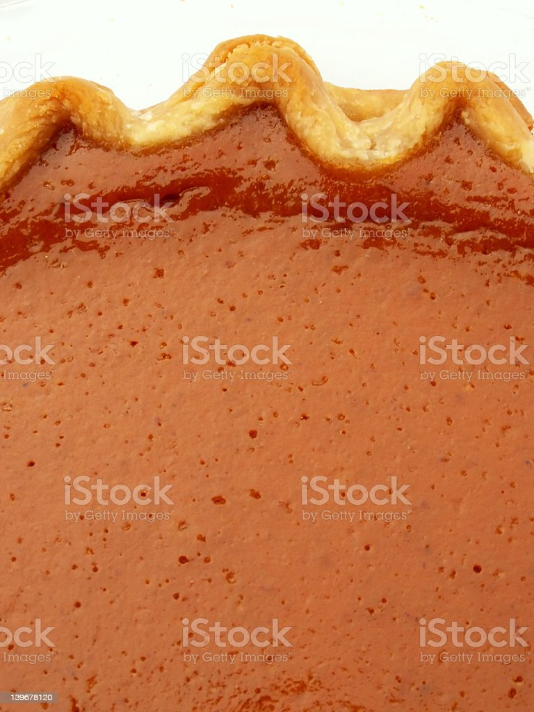 pie with crust royalty-free stock photo