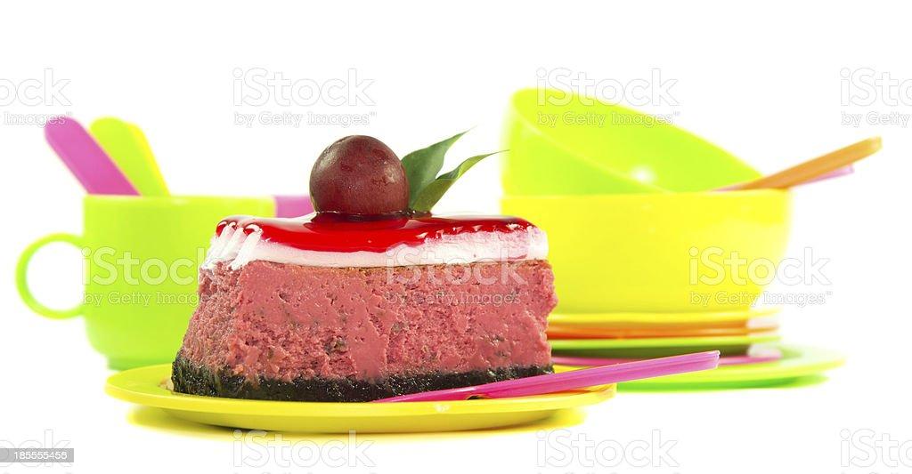 Piece of cake royalty-free stock photo