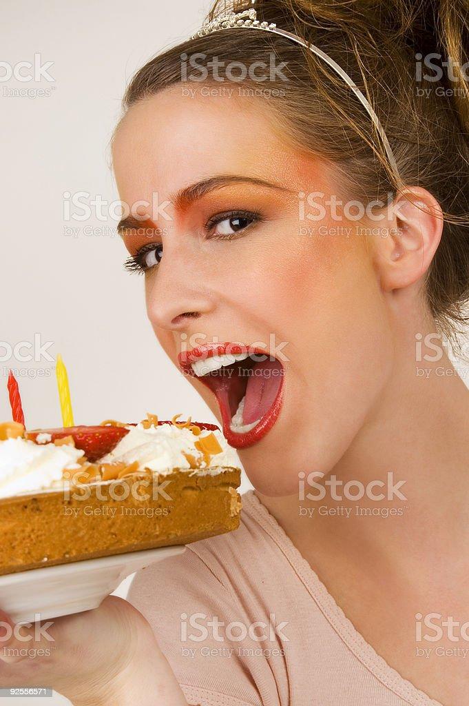 Piece Of Cake stock photo