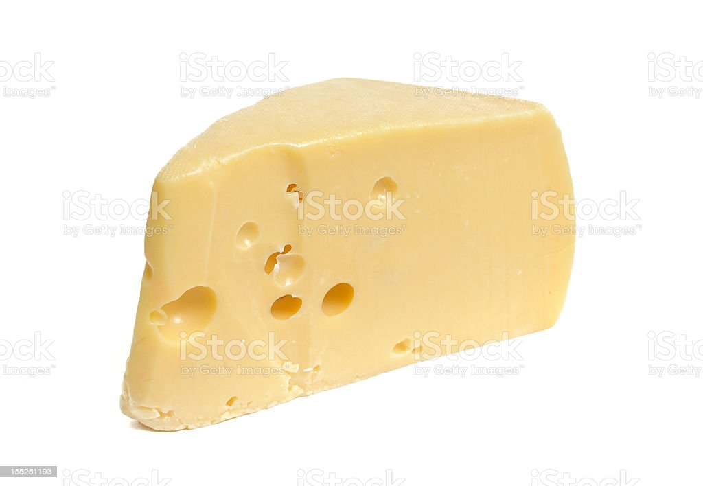 piece of cheese royalty-free stock photo