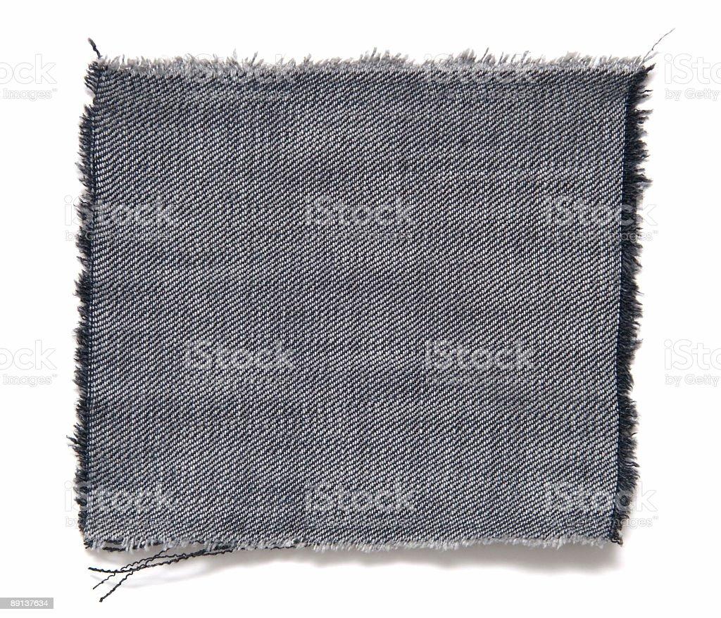 Piece of fabric with fringe stock photo