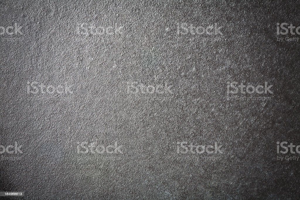 A piece of flat grey cast iron stock photo