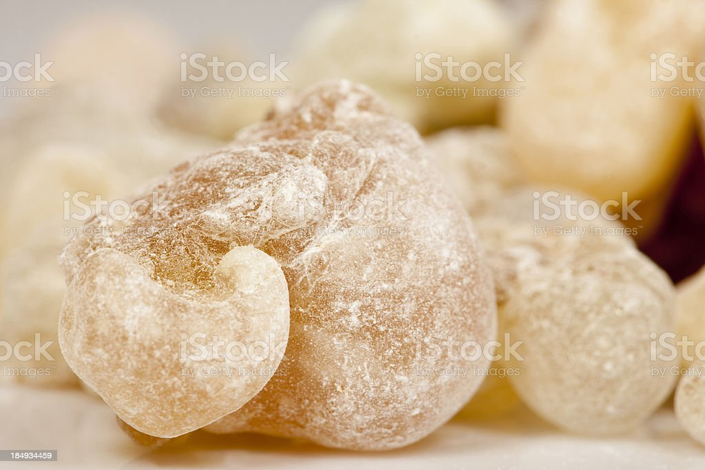 Piece of frankincense stock photo