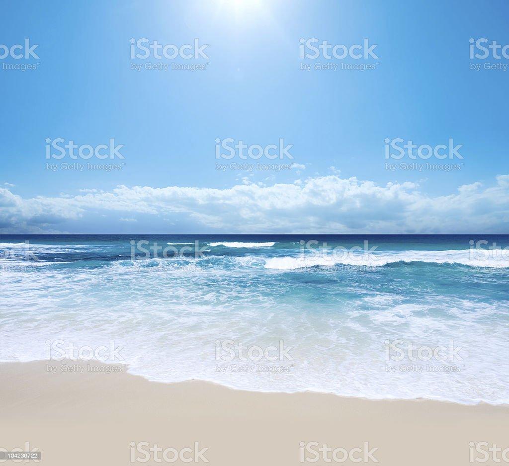 Piece of Paradise stock photo