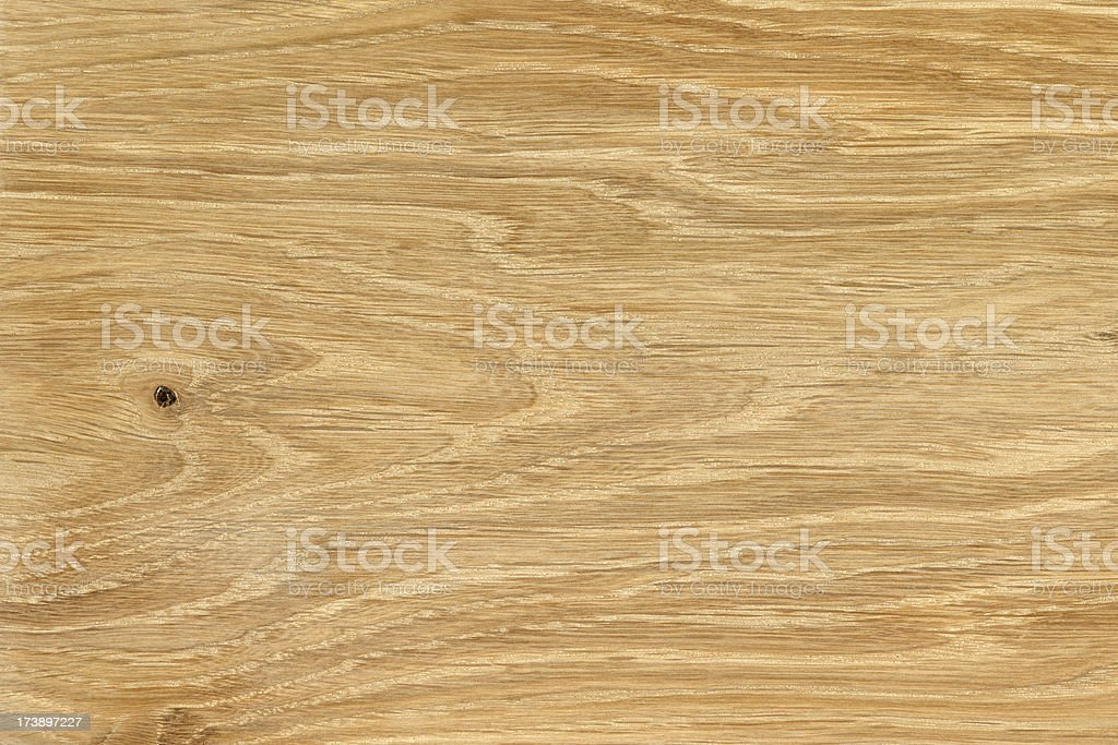 Piece of plain natural wood with grain texture royalty-free stock photo