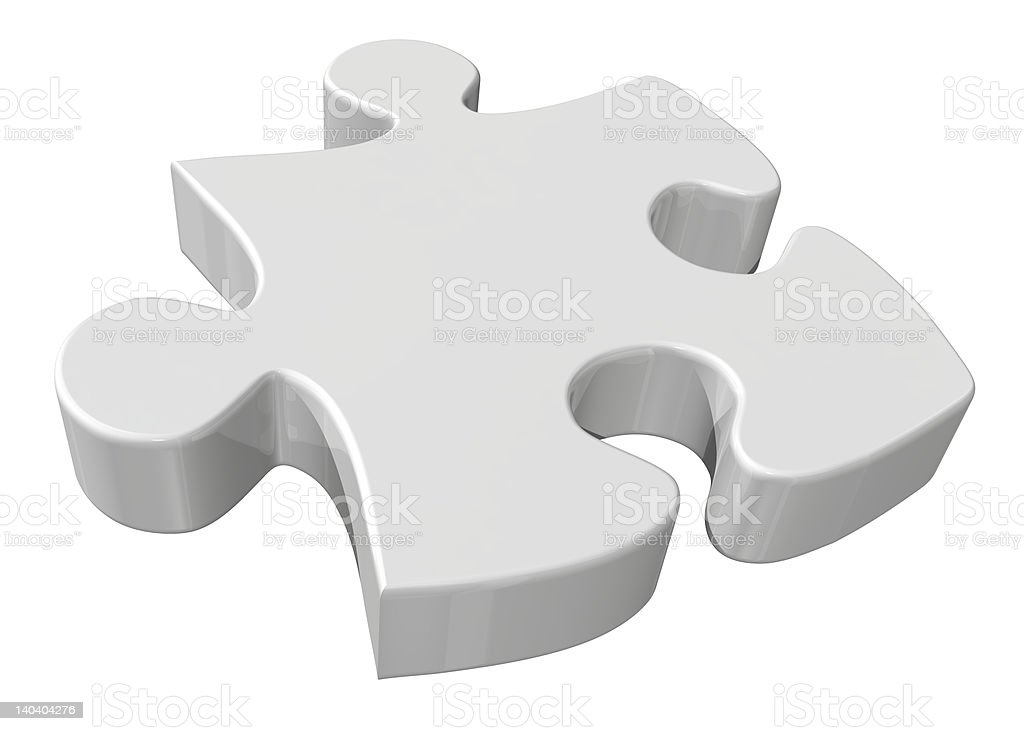 Piece of puzzle royalty-free stock photo