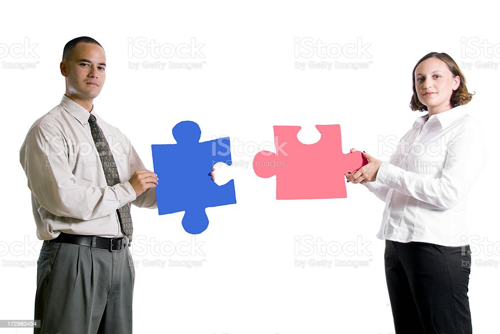 Piece of the Puzzle royalty-free stock photo