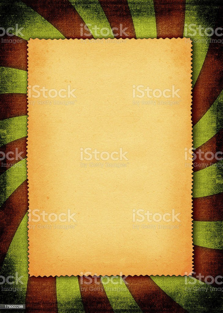 piece of torn old paper royalty-free stock photo