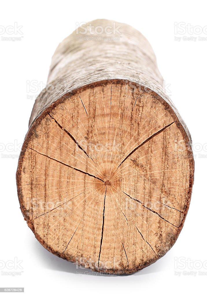Piece of wood stock photo