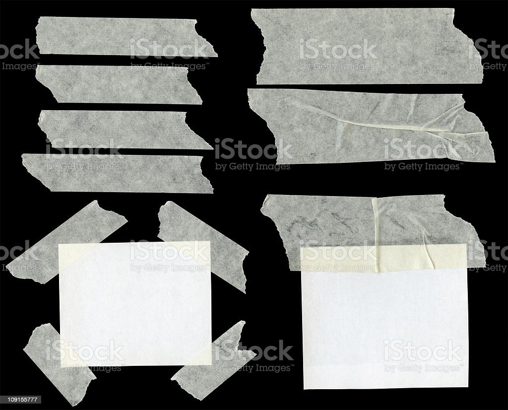 Pieces of paper royalty-free stock photo