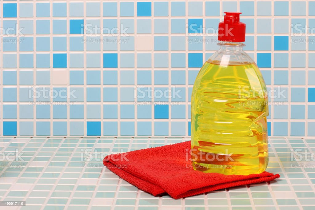 Pieces of soap stock photo