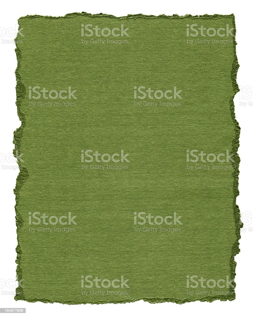 Pieces of torn paper textured background isolated royalty-free stock photo