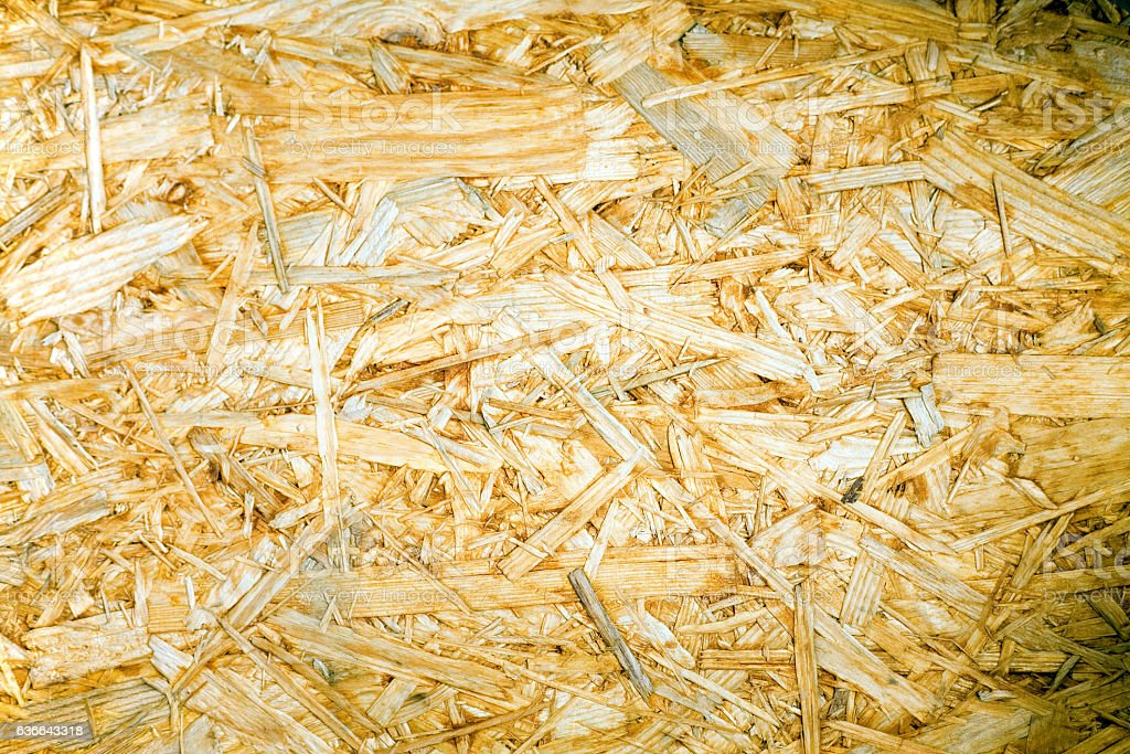 Pieces of wood glued and pressed together (Plywood) stock photo