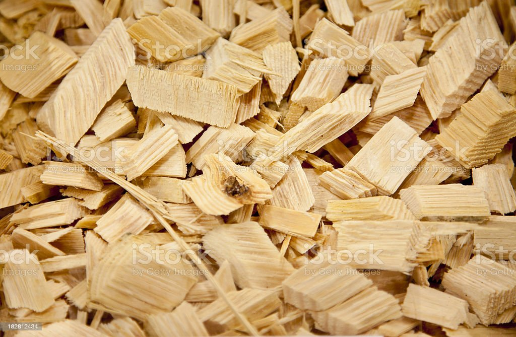 Pieces of wood stock photo