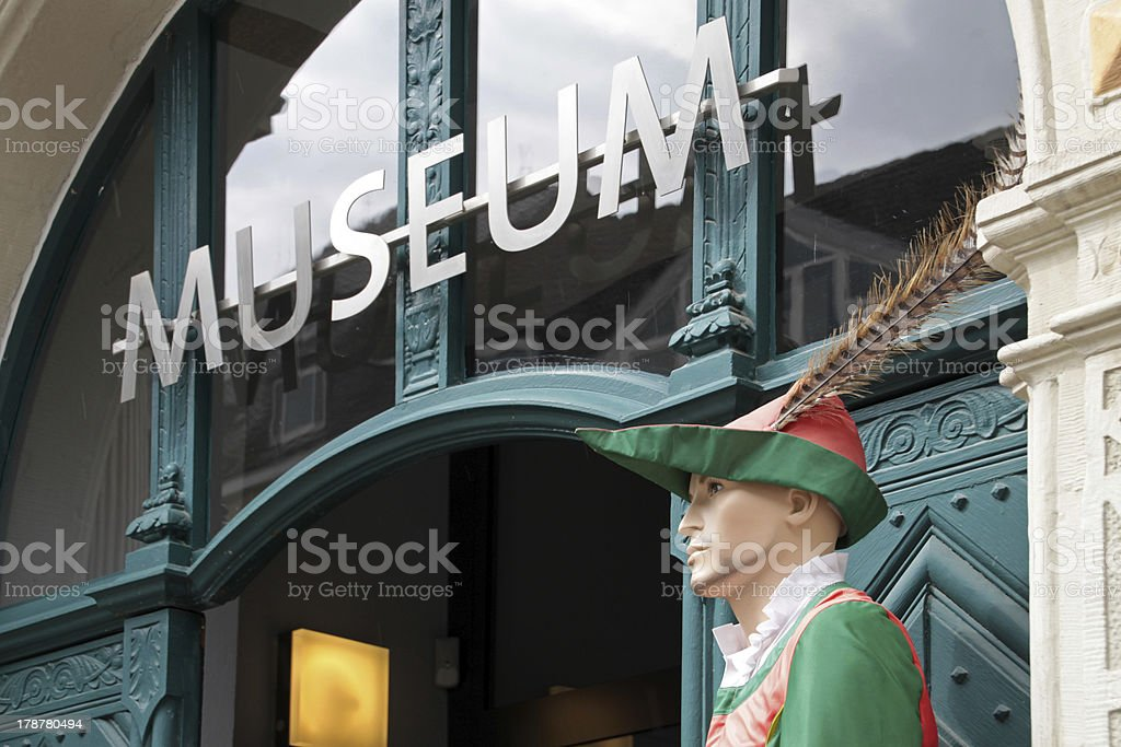 Pied Piper of Hamelin Museum stock photo