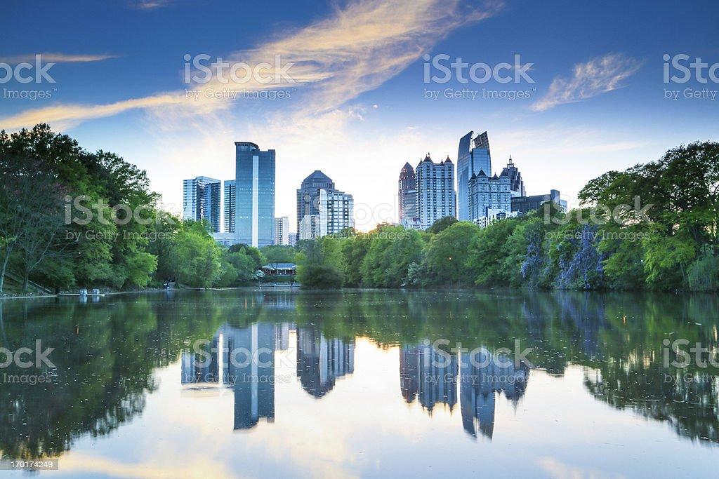 Piedmont Park stock photo