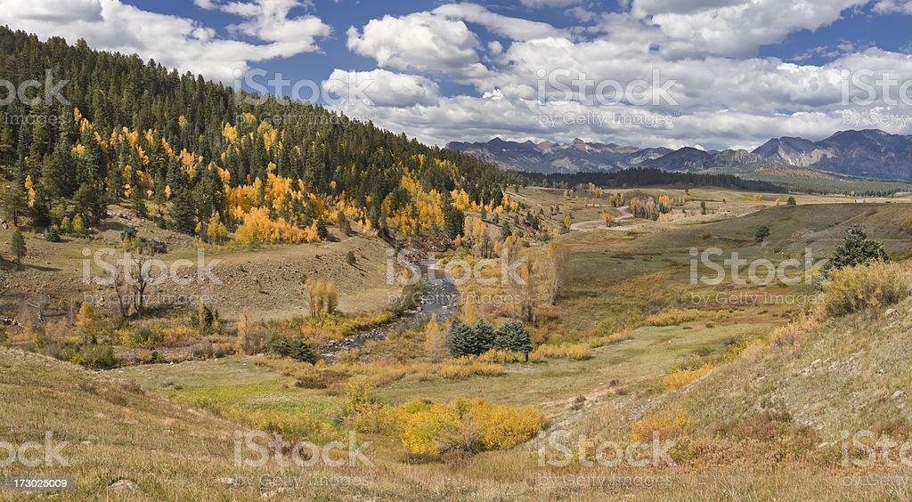 Piedra Valley Panorama XXL stock photo