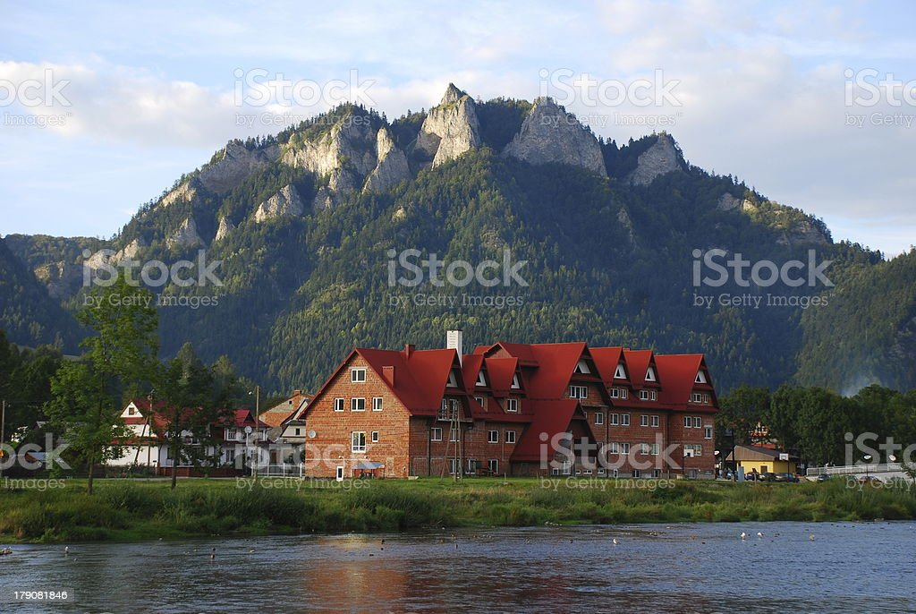 Pieniny mountains - Poland stock photo