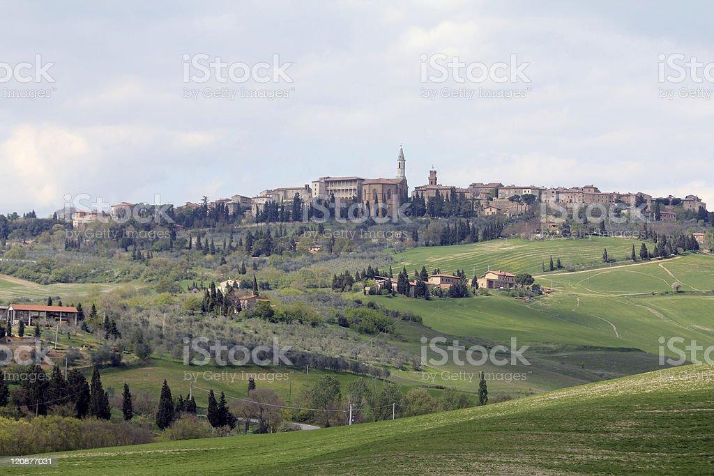 Pienza royalty-free stock photo