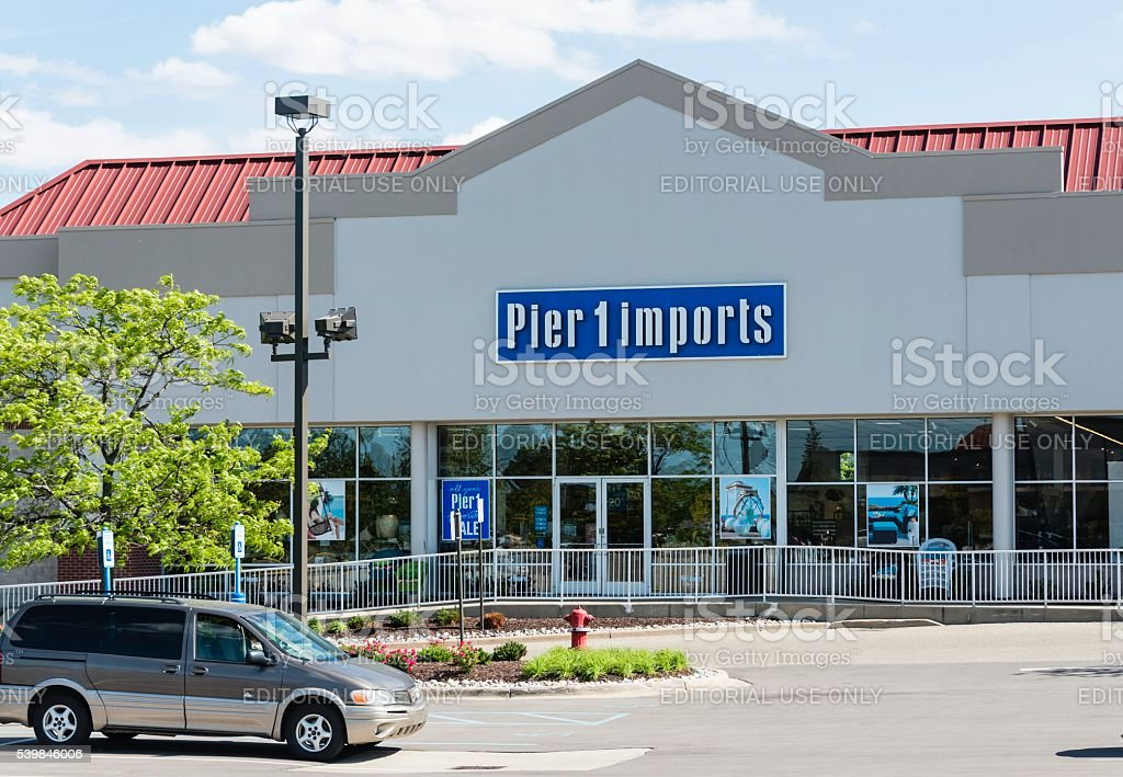 Pier 1 imports stock photo