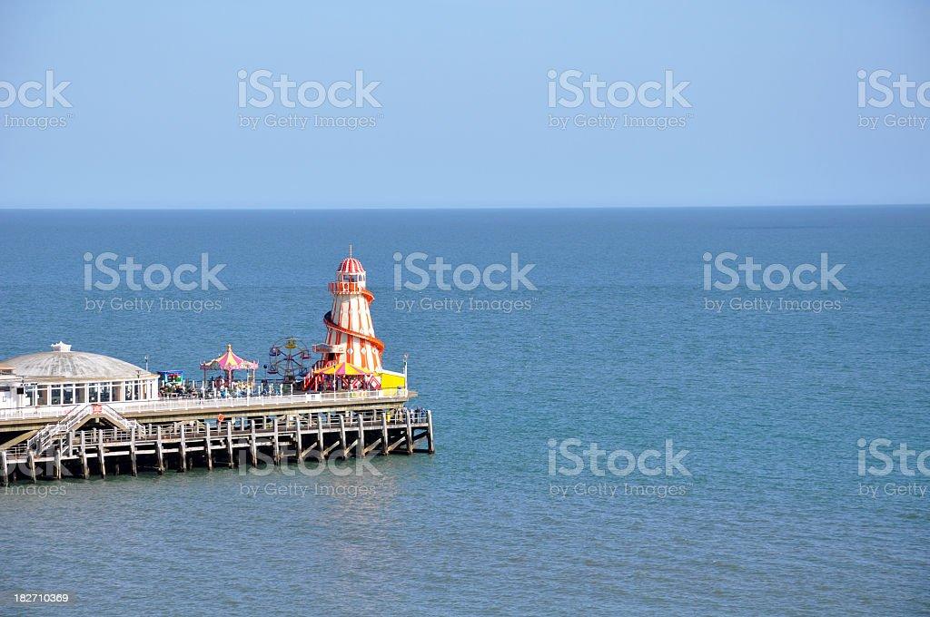 Pier Amusement stock photo