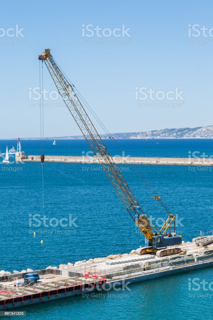 Pier Building stock photo