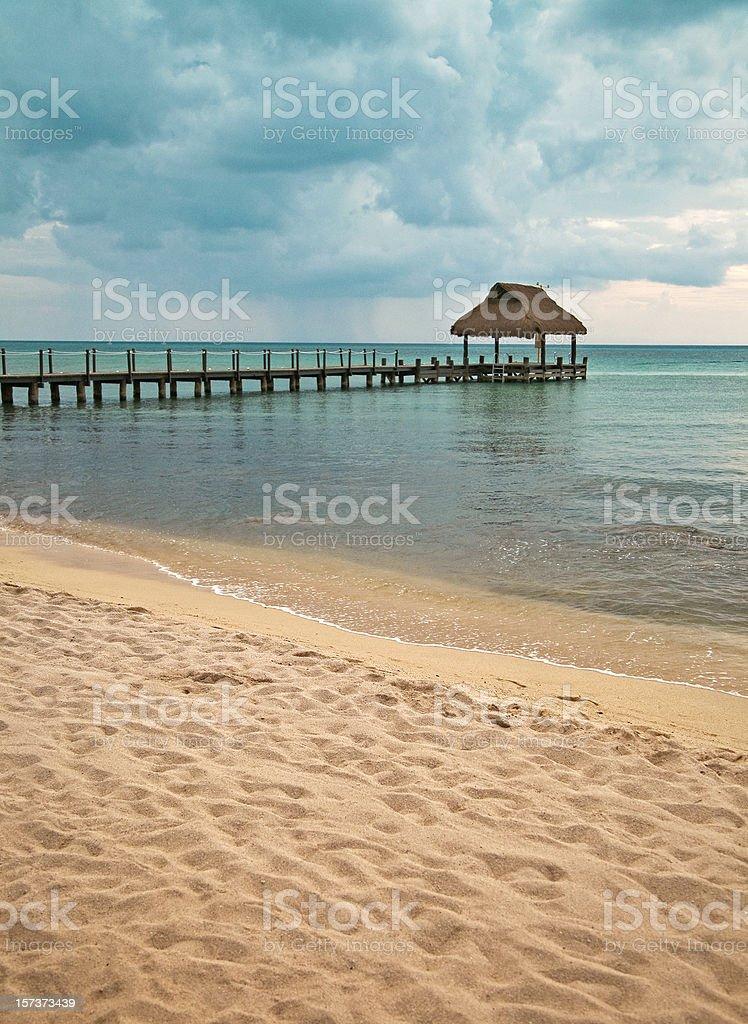 pier dock stock photo