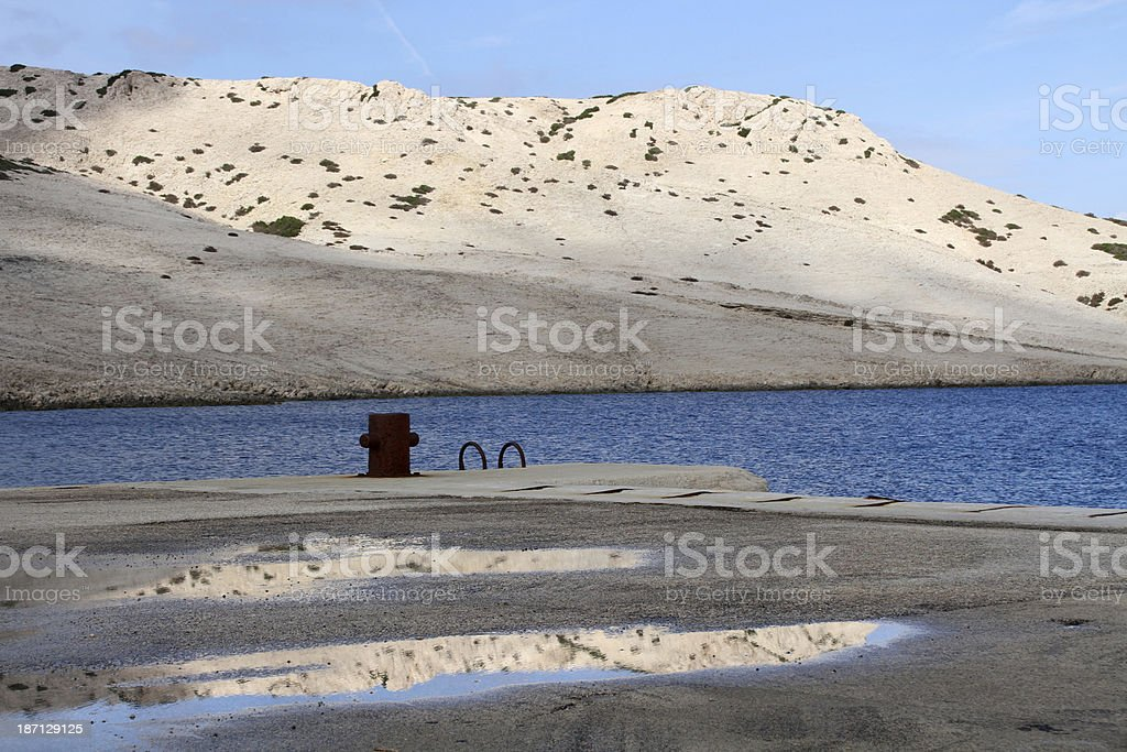 pier Pag stock photo
