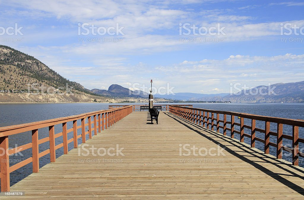 Pier. royalty-free stock photo