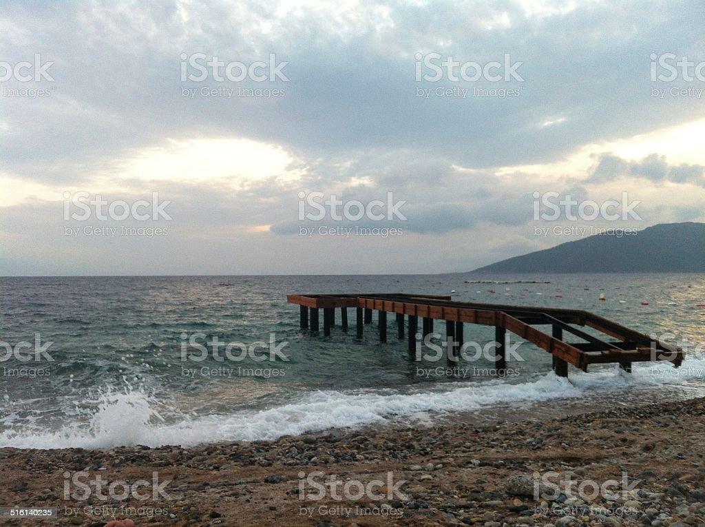 Pier foto royalty-free