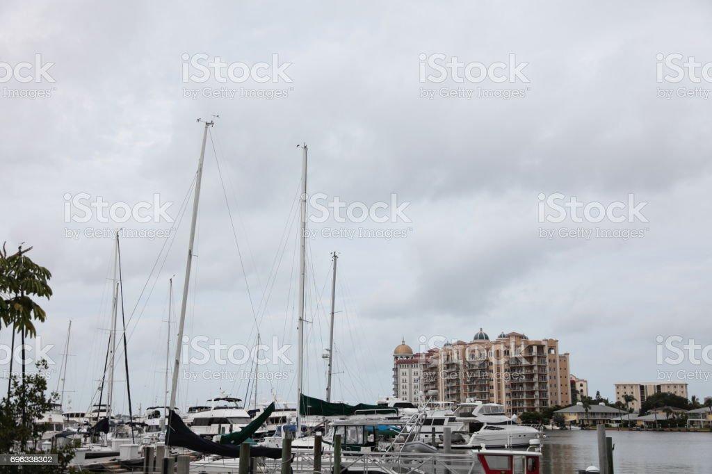 Pier. stock photo