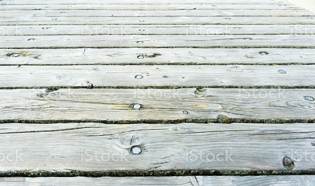 pier planks stock photo